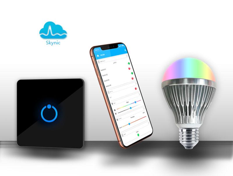 لامپ هوشمند یا کلید هوشمند